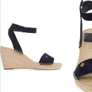 Tory Burch Shoes - SALE! Tory Burch Bima 90MM Wedge Sport Suede